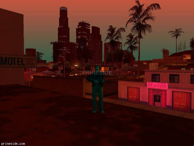 GTA San Andreas weather ID 690 at 22 hours