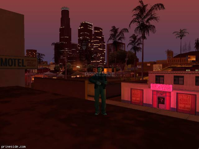 GTA San Andreas weather ID -78 at 23 hours