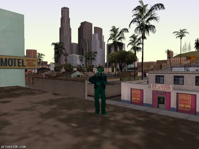 GTA San Andreas weather ID -77 at 14 hours