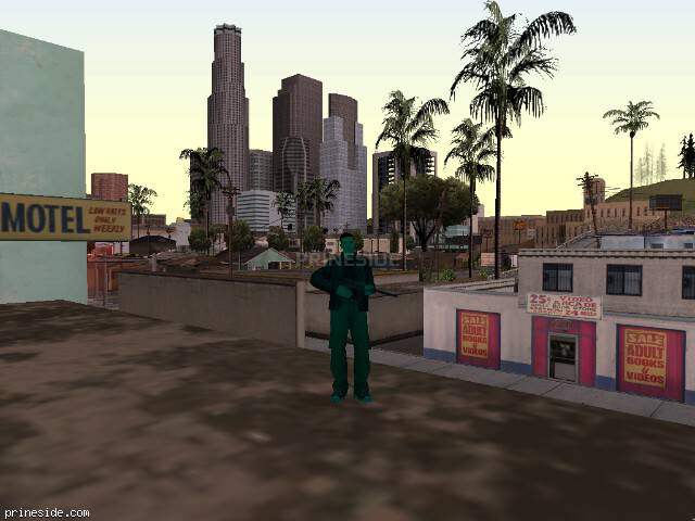 GTA San Andreas weather ID -1357 at 17 hours