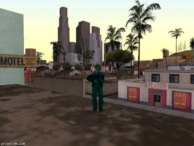 GTA San Andreas weather ID 947 at 19 hours
