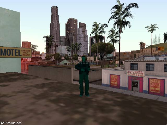 GTA San Andreas weather ID -1101 at 20 hours