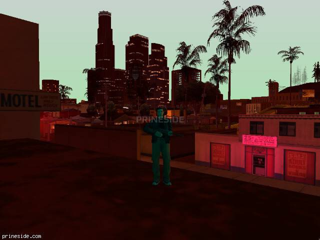 GTA San Andreas weather ID -845 at 21 hours