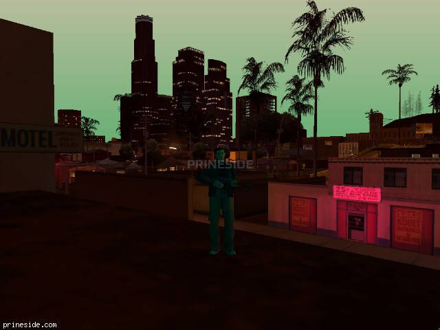 GTA San Andreas weather ID -1357 at 22 hours