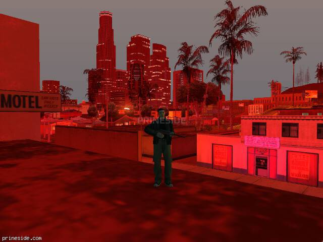 GTA San Andreas weather ID -1101 at 23 hours