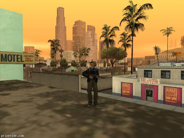 GTA San Andreas weather ID 18 at 20 hours