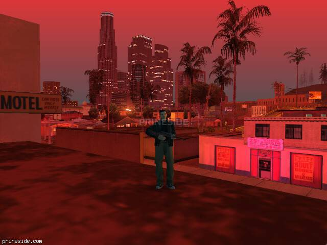 GTA San Andreas weather ID 181 at 23 hours