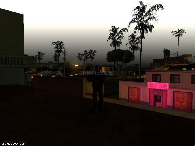 GTA San Andreas weather ID -74 at 0 hours