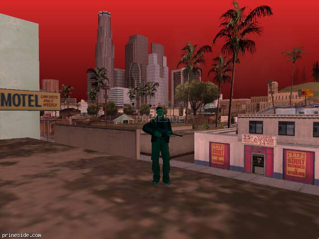 GTA San Andreas weather ID -74 at 13 hours