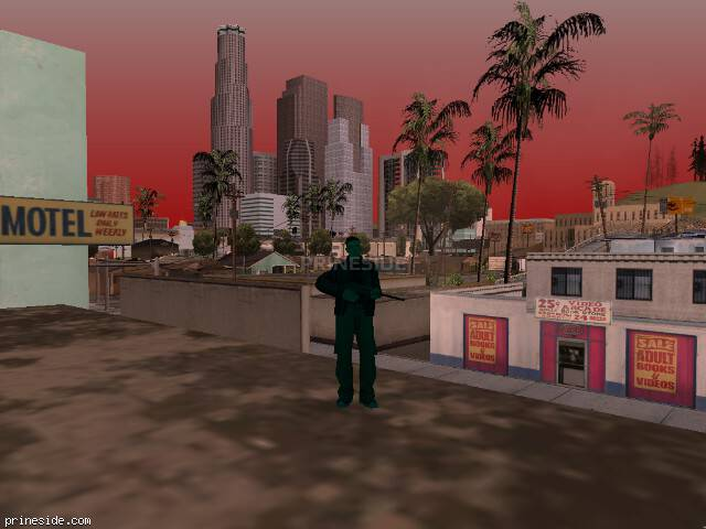 GTA San Andreas weather ID 1718 at 15 hours