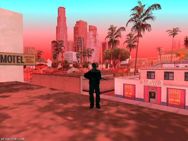 GTA San Andreas weather ID -74 at 20 hours