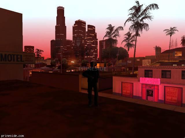 Просмотр погоды GTA San Andreas с ID 694 в 23 часов