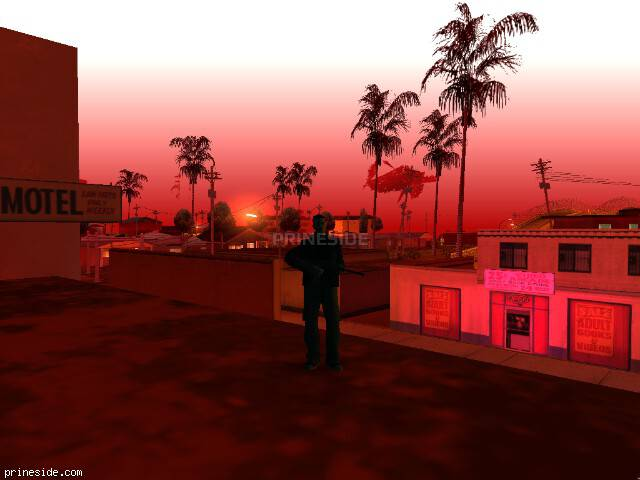 GTA San Andreas weather ID -74 at 2 hours