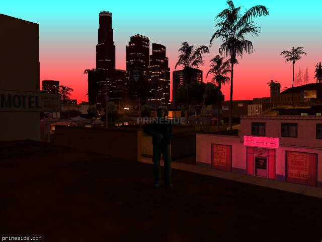 GTA San Andreas weather ID 183 at 22 hours