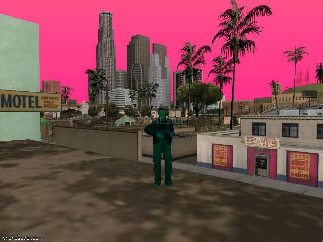Просмотр погоды GTA San Andreas с ID 184 в 12 часов