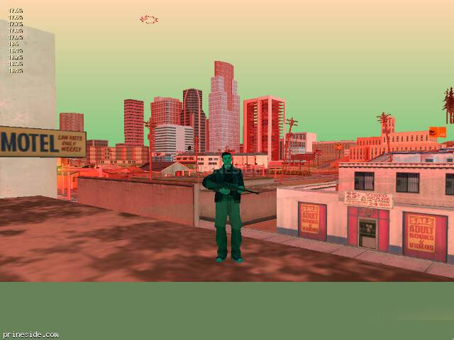 GTA San Andreas weather ID 184 at 20 hours
