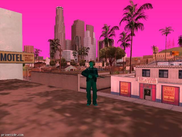 Просмотр погоды GTA San Andreas с ID -71 в 11 часов