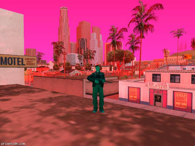 GTA San Andreas weather ID 185 at 12 hours