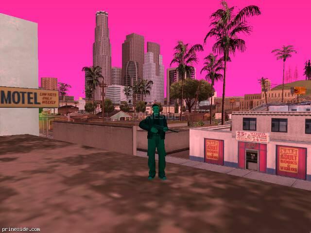 Просмотр погоды GTA San Andreas с ID -71 в 13 часов