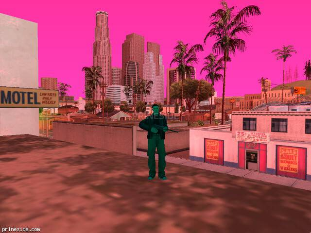 GTA San Andreas weather ID 441 at 14 hours