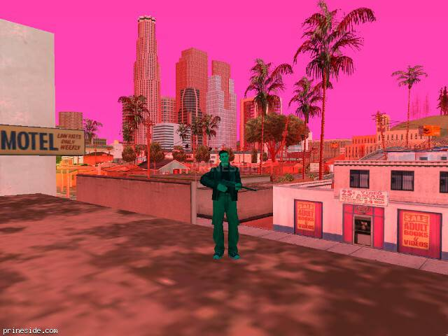 GTA San Andreas weather ID 185 at 16 hours