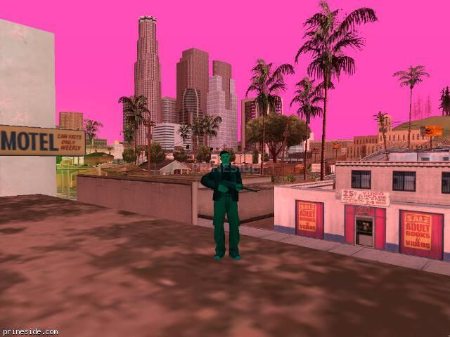 Просмотр погоды GTA San Andreas с ID -71 в 18 часов