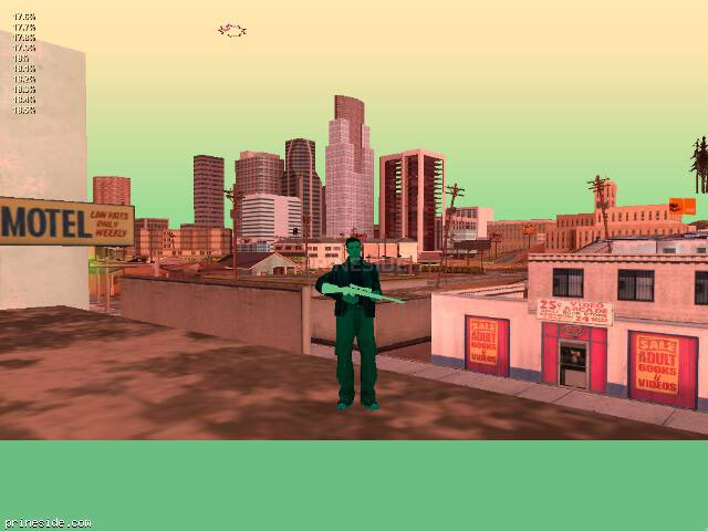 GTA San Andreas weather ID -583 at 20 hours