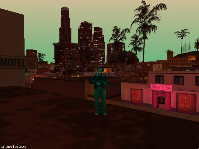 Просмотр погоды GTA San Andreas с ID -71 в 21 часов