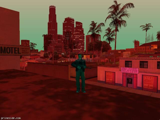 Просмотр погоды GTA San Andreas с ID 185 в 22 часов
