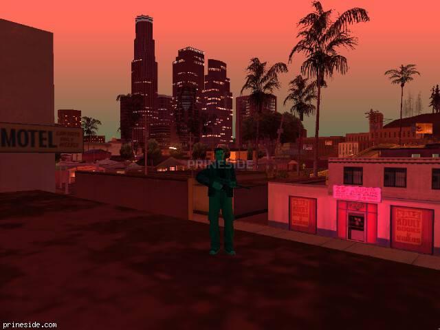Просмотр погоды GTA San Andreas с ID -71 в 23 часов