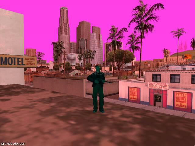 Просмотр погоды GTA San Andreas с ID -71 в 8 часов