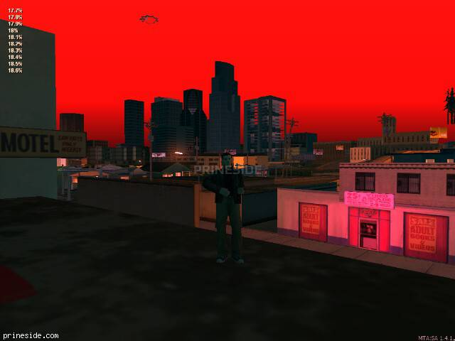 GTA San Andreas weather ID 1466 at 0 hours