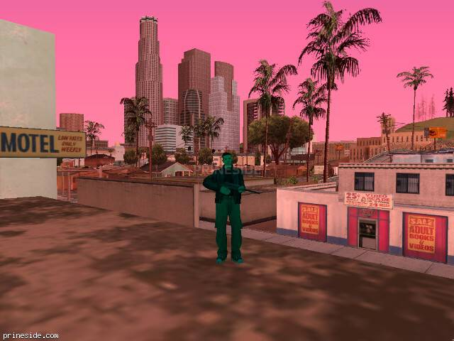 GTA San Andreas weather ID 186 at 13 hours
