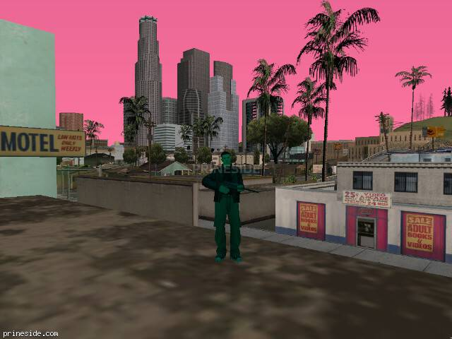 GTA San Andreas weather ID -582 at 16 hours