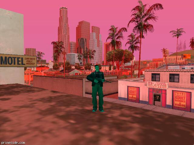 GTA San Andreas weather ID 954 at 18 hours