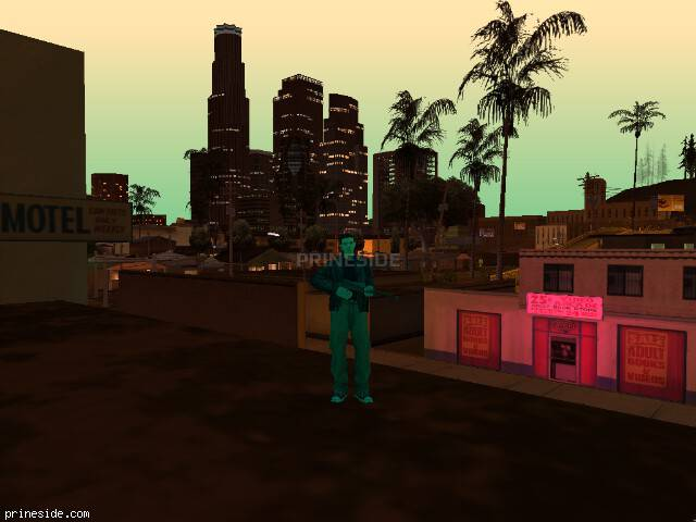 GTA San Andreas weather ID -70 at 21 hours