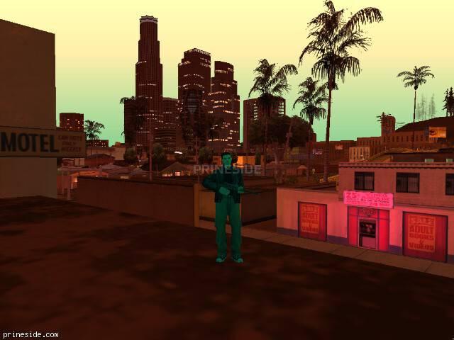 Просмотр погоды GTA San Andreas с ID 186 в 22 часов
