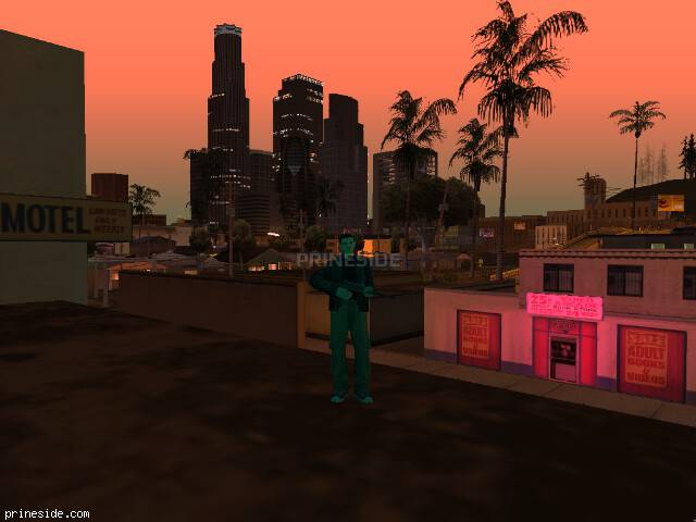 GTA San Andreas weather ID -582 at 23 hours
