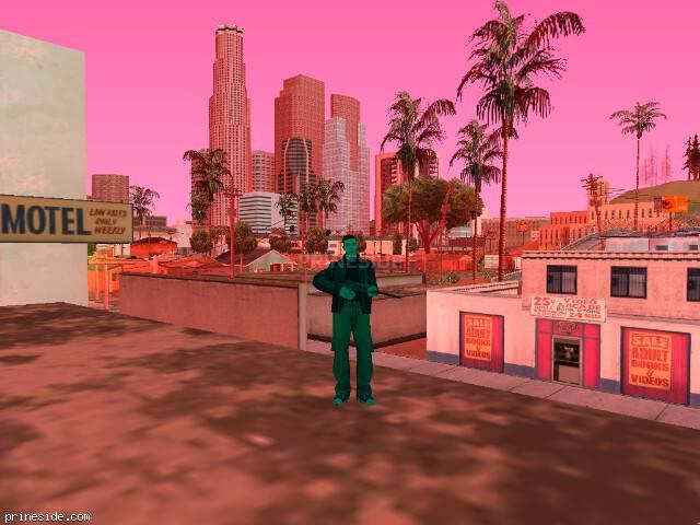 Просмотр погоды GTA San Andreas с ID 187 в 14 часов