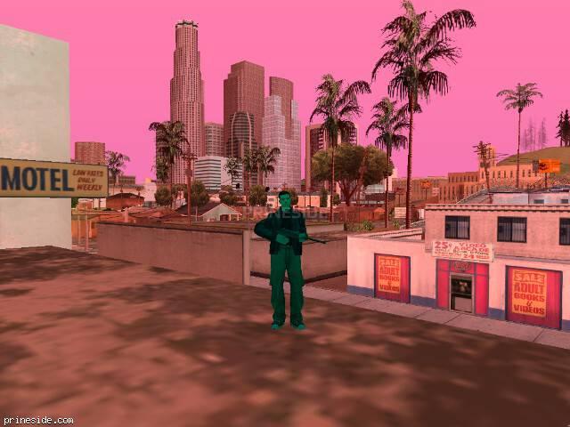 Просмотр погоды GTA San Andreas с ID 187 в 18 часов