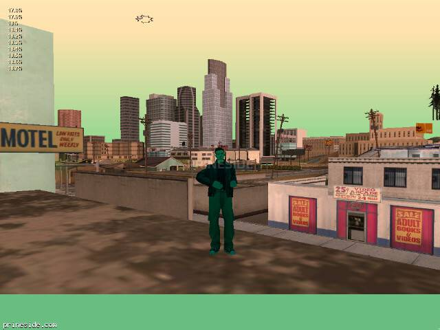 GTA San Andreas weather ID 187 at 20 hours