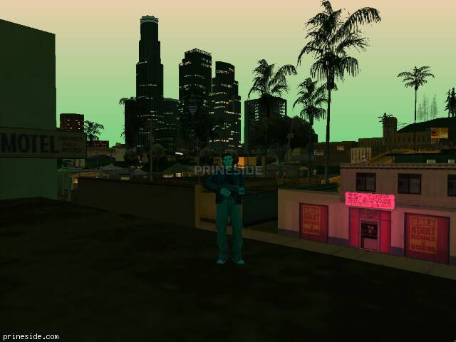 GTA San Andreas weather ID 187 at 21 hours