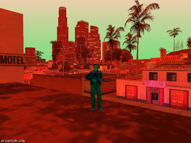 GTA San Andreas weather ID 187 at 22 hours
