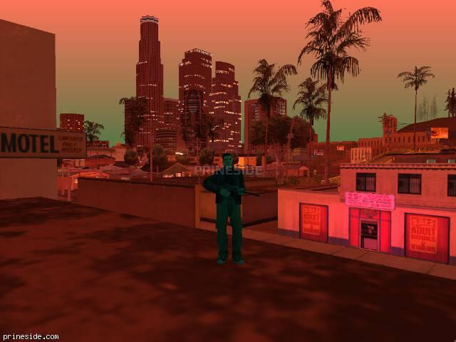 Просмотр погоды GTA San Andreas с ID 187 в 23 часов