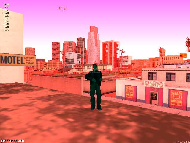 GTA San Andreas weather ID 187 at 7 hours