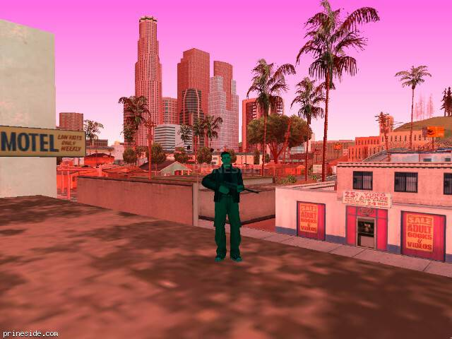 GTA San Andreas weather ID 187 at 8 hours
