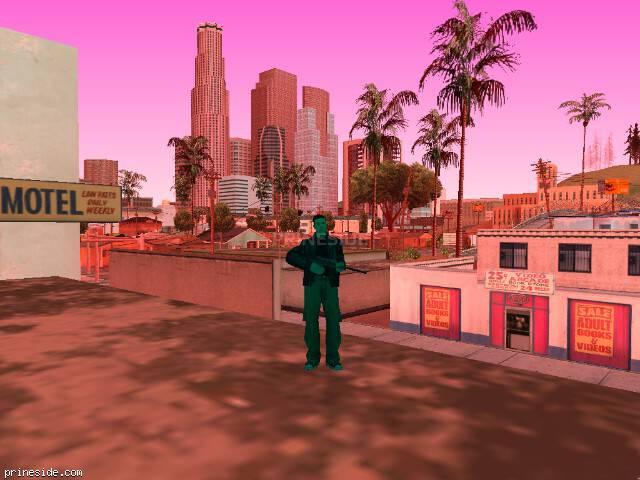 GTA San Andreas weather ID 187 at 9 hours