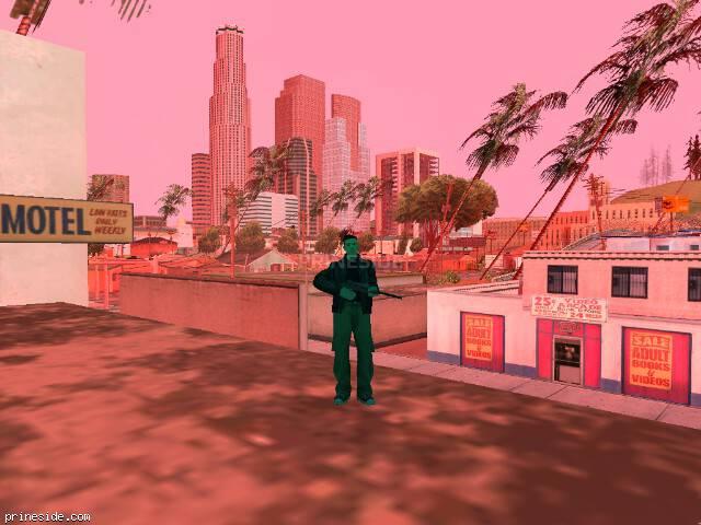 Просмотр погоды GTA San Andreas с ID 188 в 10 часов