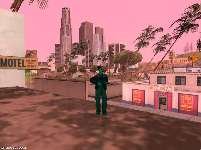 GTA San Andreas weather ID 188 at 16 hours