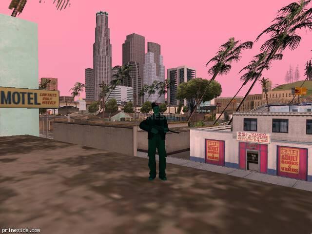 Просмотр погоды GTA San Andreas с ID 188 в 8 часов